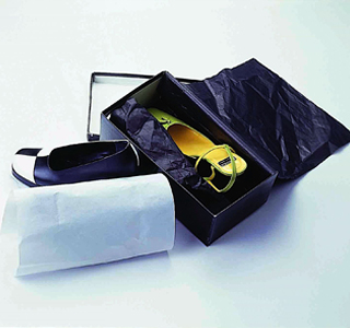 Wrapping and Packaging-Shoe wrapping